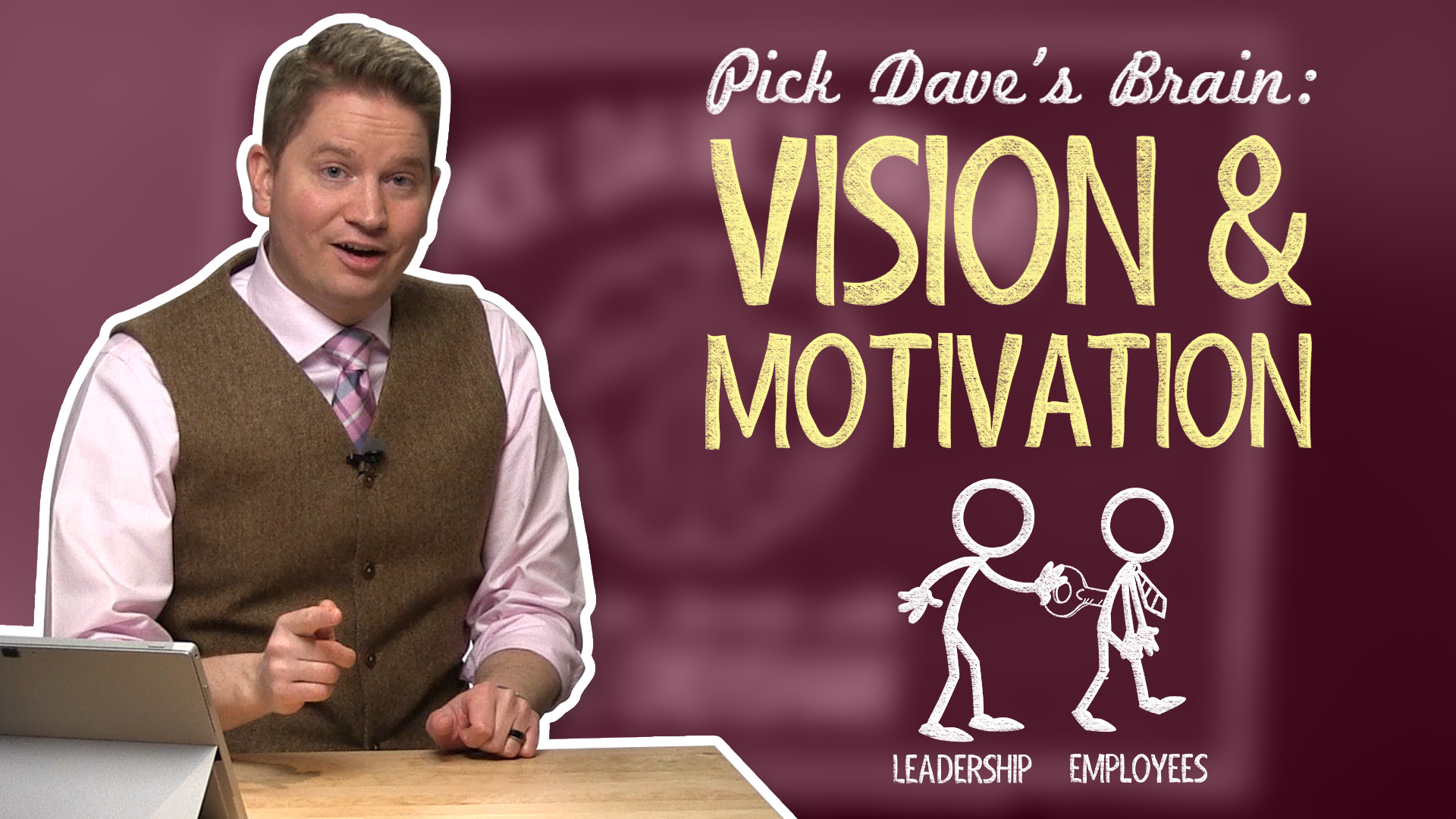 """How to Help Employees """"Buy-in"""" Without Bribing Them – Pick Dave's Brain"""